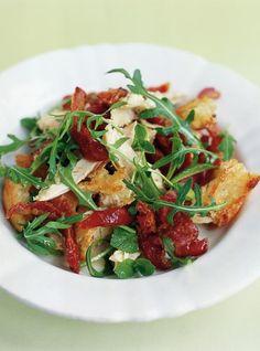 Chicken & Pancetta Salad | Chicken Recipes | Jamie Oliver Recipes