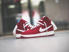 100% authentic bc674 69d25 Damskie buty Nike Air Force 1 High Retro Gym CZERWONY - wyprzedaż - tanie