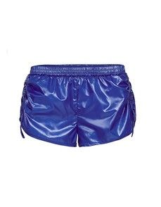 Light and sporty, these Run Performance Shorts are the perfect piece for every active lady. Great for running and gym, these cheeky shorts feature adjustable buckles down the sides which allow you to cinch the length high or low. Made from a sleek Polyester fabric, they have a shiny, ultra luxe look which is sure to turn heads during your afternoon jog!