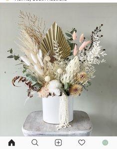 Fake Flower Arrangements, Tropical Floral Arrangements, Fake Flowers, Dried Flowers, Dried Flower Bouquet, Boquet, Rama Seca, Flower Factory, How To Preserve Flowers