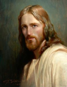 """""""Man Of Galilee"""" - painting by Joseph Brickey God and Jesus Christ Images Of Christ, Pictures Of Jesus Christ, Religious Pictures, Religious Art, Jesus Face, God Jesus, Religion Catolica, Saint Esprit, Jesus Lives"""