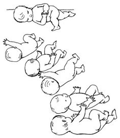 Peaceful Babies—Contented Mothers by Dr. Emmi Pikler. THE DEVELOPMENT OF MOVEMENT - STAGES