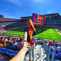 Camp Nou Stadium Barcelona.