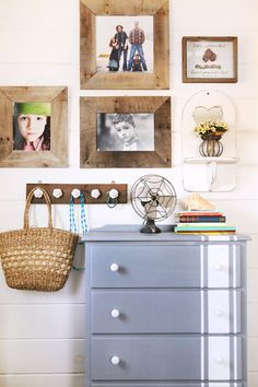 Turn a Wooden Pallet Into Unique Photo Frames. Salvage a cast-off pallet to make these delightfully distressed frames that fit almost any decor