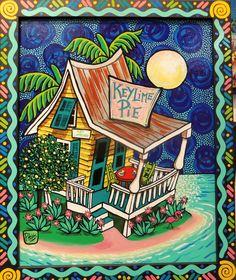 Lovely whimsical art by Pam Hobbs