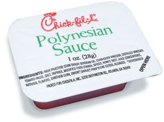 Chick Fil A polynesian sauce!! I am about to die!! @Kaley Anderson #lifewithoutpolynesian