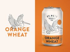 Orange Wheat designed by Kenny Coil for Hype Group. Connect with them on Dribbble; the global community for designers and creative professionals. Juice Packaging, Beverage Packaging, Product Packaging, Food Packaging Design, Packaging Design Inspiration, Packaging Ideas, Logo Inspiration, Line Art Design, Collateral Design
