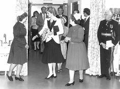 StAnneHospice - & - Princess Diana visite  Cambridgeshire - 1985