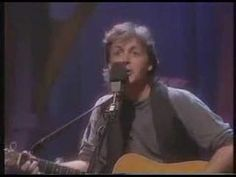 Be Bop A Lula - Paul McCartney (UNPLUGGED)  ☆