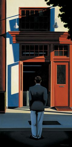 Kenton Nelson, Red and Waiting