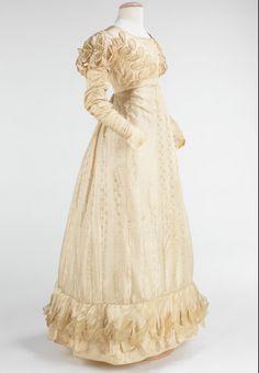 1824 Wedding dress, American