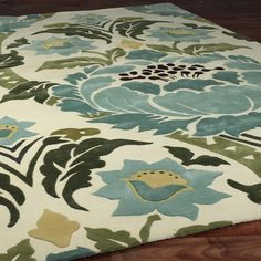 amy butler damask rug