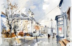 65 best images about John Hoar on Pinterest | Watercolors ...