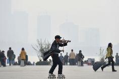 Heavy Pollution Plagues Shanghai