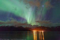 Looking across Resurrection Bay early in the morning, Seward, Alaska. (Oct. 9, 2013) -- Ron Niebrugge.