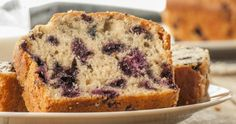 Blueberry and lemon loaf