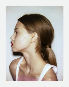"""yhji: """" Lindsey Wixson for Self Service S/S 2013 """" Straight Hairstyles, Braided Hairstyles, Model Polaroids, Lindsey Wixson, Hair Reference, Beauty Shots, French Girls, Fashion Images, Fashion Models"""