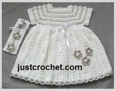 Looking for your next project? You're going to love JC115C-Dress outfit Baby Crochet Pattern by designer justcrochet. - via @Craftsy