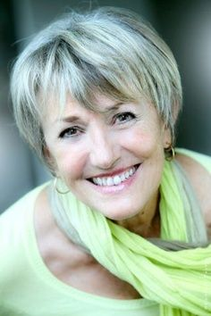 short hair styles for women over 50 gray hair | Short Hair Styles and my new favorite color: Silver