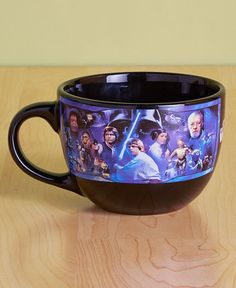 STAR WARS® Mug 24-Oz. Licensed Soup Mugs Comic Collector Snack Bowl #Unbranded