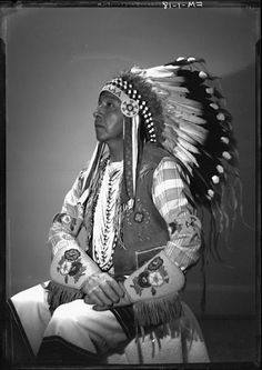 Four Souls (the son of Little Bear) - Cree - 1909