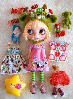 https://flic.kr/p/HtTaxh | girl and stuff | I have always loved those pictures! A girl and many stuff around her! The dress on her is made by Isa268 <3