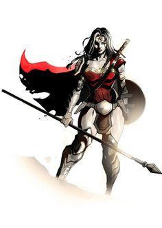 #Wonder #Woman #Diana #Prince By Dexter Soy