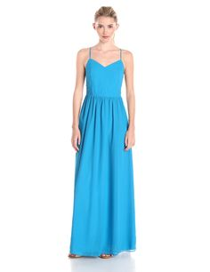 Strappy Fit N Flare Maxi Dress by Adelyn Rae