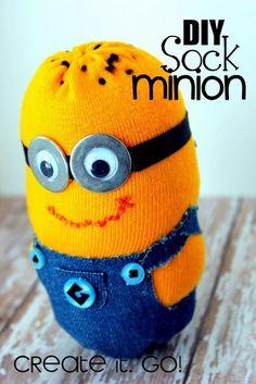 DIY Sock Minion