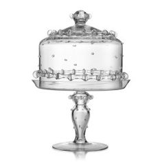 Juliska - Harriet Medium Cake Dome & Pedestal.