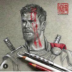Thor is so cute here)