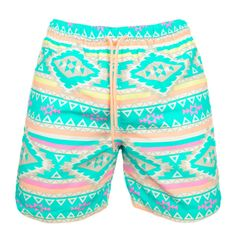 Dare I say, En Fuego. You can't stop these pastel purveyors of la playa, you can only hope to contain them. These are the most glorious swim trunks in all the land. Kids Outfits, Cool Outfits, Summer Outfits, Summer Clothes, Men's Swimsuits, Swimwear, Casual Wear For Men, Matches Fashion, Man Swimming