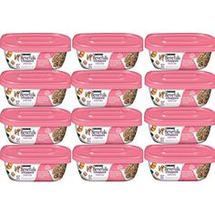 Purina Beneful Chopped Blends With Salmon,Sweet Potatoes,Brown Rice & Spinach 10 OZ Tub (12 Pack) -- You can continue to the product at the image link. (This is an affiliate link and I receive a commission for the sales)