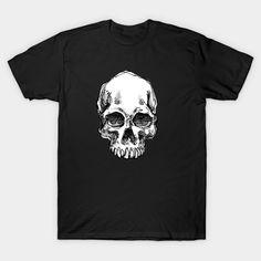 Skull - Skull - T-Shirt | TeePublic