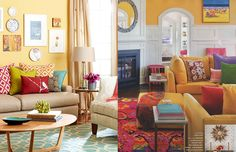 Inspiração pra decoração: veja como usar amarelo na casa toda! | Casa&Cozinha