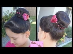 Dona / Recogido con Trenza! - Wrapped Bun! | Chikas Chic. Link download: http://www.getlinkyoutube.com/watch?v=Hsl7VUbVJ3o