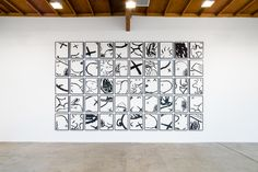 Illustrious street artist KAWS returned to Los Angeles to present his third exhibition at Honor Fras...