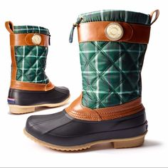 Tommy Hilfiger Arcadia Duck Boots These are in brand new condition! Completely waterproof and warm! Right on trend and perfect for any rainy day during any season! NO TRADES PLEASE Tommy Hilfiger Shoes Winter & Rain Boots