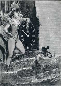 "MAX ERNST. Illustration to ""A Week of Kindness"", 1934."