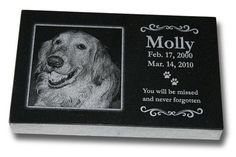 Medium Standard Pet Grave Marker - Pet Headstones - Pet Gravestones - Pet Memorials ** Read more reviews of the product by visiting the link on the image.