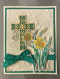 Hold on to Hope; You're Inspiring; Baptism Cards, Horse Cards, Christian Cards, Stamping Up Cards, Sympathy Cards, Paper Cards, Flower Cards, Greeting Cards Handmade, Homemade Cards