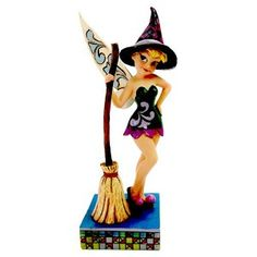 Disney Traditions Jim Shore Figure - Tinker Bell As a Witch