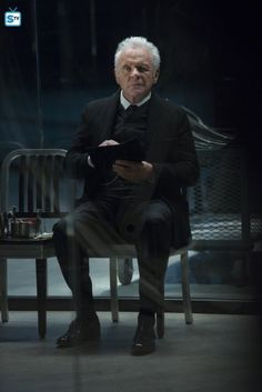 Anthony Hopkins as Dr. Robert Ford in Westworld - credit John P. Johsnon, HBO
