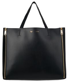Céline Horizontal Cabas Zip Tote in black as seen on Binky Felstead
