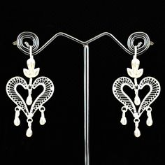 Latest Fashion Jewellery And Pure Silver Earrings Available For Online Purchase At Madhurya