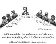 Mediation is often clarified by body language