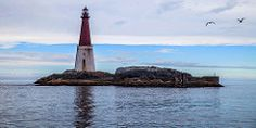 Grip Lighthouse Grip is an archipelago, a deserted fishing village, and a former… Kristiansund, Fishing Villages, Burj Khalifa, Archipelago, Old Town, West Coast, Finland, Denmark, Sailing