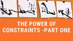 I explain the benefits of constraints in artwork in this video. Why less is more. How constraints can push your creativity. I demonstrate using the constrain. Painting Videos, Less Is More, Video Tutorials, Creativity, About Me Blog, Youtube, Art, Art Background, Kunst