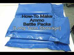 How to Make DIY Waterproof Ammo Battle Packs  http://rethinksurvival.com/posts/how-to-make-diy-waterproof-ammo-battle-packs-video/