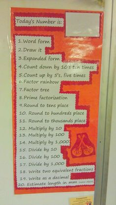 from-student-to-teacher:  Quick morning math activity.  Love this. Could be a great math activity when we switch - a warm-up until its time for groups!